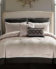 VCNY Home Berkley Reversible 7-Pc. Medallion Queen Comforter Set