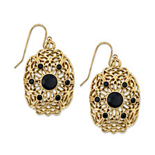 2028 Filigree Drop Earrings