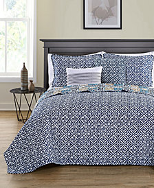 VCNY Home Azau Reversible 5-Pc. Quilt Set Collection