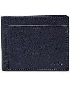 Fossil Men's Leather Neel Bifold Wallet