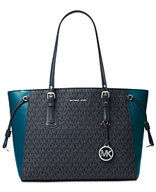 Michael Kors Signature Voyager Multi Function Top Zip Tote