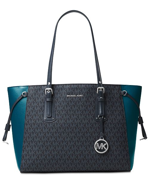 df37a89639d4e9 MICHAEL Michael Kors. Signature Voyager Multi-Function Top Zip Tote. Be the  first to Write a Review. main image