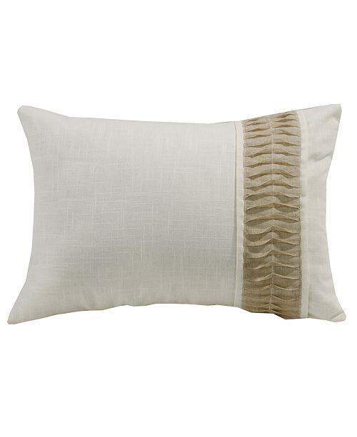 HiEnd Accents White Linen Pillow