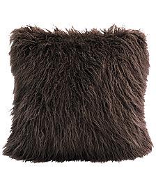 """18""""x18"""" Mongolian Faux Fur Pillow"""