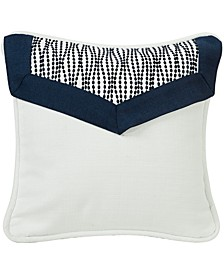 White Linen 18x18 Decorative Pillow