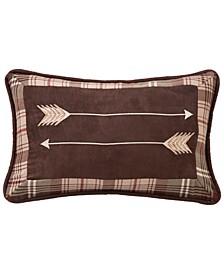 "12""x19"" Embroidery Arrow Pillow"