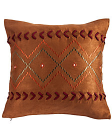 """Embroidered Aztec 18""""x18"""" Pillow"""