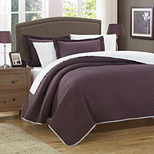 Chic Home Palermo 3 Piece Queen Quilt Set
