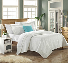 Chic Home Barcelo 4 Piece Queen Quilt Set