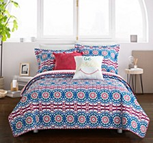 Tristan 5 Piece Full Quilt Set