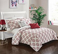 Chic Home Jaden 5 Piece Full Quilt Set