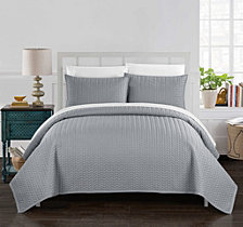 Chic Home Weaverland 3 Piece Queen Quilt Set