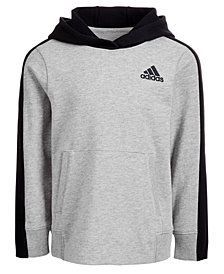 adidas Big Boys Altitude Heathered Hoodie