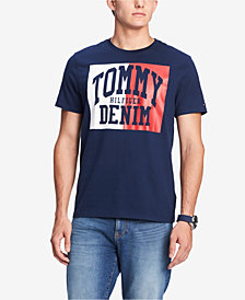 Tommy Hilfiger Men's Plains Graphic T-Shirt, Created for Macy's
