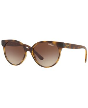 VOGUE Eyewear Sunglasses, Vo5245S 53 in Dark Havana / Brown Gradient