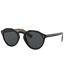 Burberry Polarized Sunglasses, BE4280 50