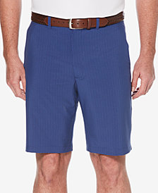 PGA TOUR Men's Stretch Mini Geo-Print Flat-Front Golf Shorts
