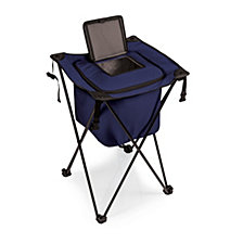 Picnic Time Sidekick Portable Standing Navy Beverage Cooler