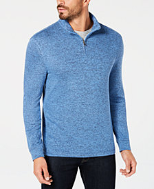 Club Room Men's Quarter-Zip Sweater, Created for Macy's