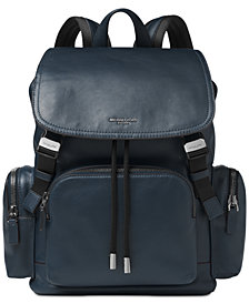 Michael Kors Men's Henry Leather Rucksack