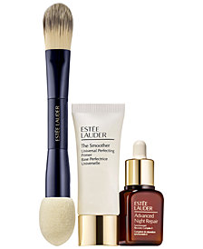 Estée Lauder 3-Pc. Meet Your Match Makeup Set - Only $12 with any Double Wear Stay-In-Place Makeup purchase