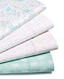 CLOSEOUT! Printed Sheet Sets, 300 Thread Count Hygro Cotton, Created for Macy's