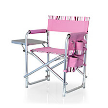 Picnic Time Pink Sports Chair