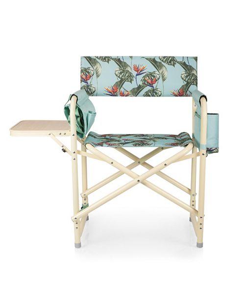 Pleasant Oniva By Outdoor Light Blue Directors Folding Chair Inzonedesignstudio Interior Chair Design Inzonedesignstudiocom