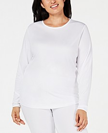 Plus Size ClimateSmart Long-Sleeve Top