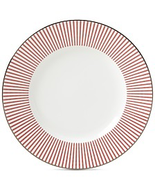 kate spade new york Laurel Street Collection Red Accent Plate