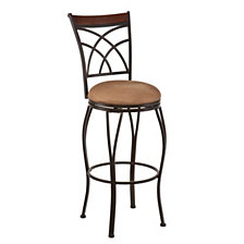 Ashbourne Swivel Bar Stool, Quick Ship