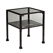 Terrarium Display End Table, Quick Ship