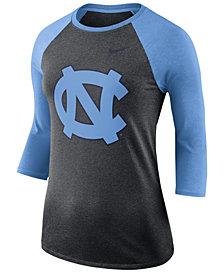 Nike Women's North Carolina Tar Heels Dri-Blend Raglan T-Shirt
