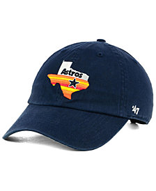 '47 Brand Houston Astros Core CLEAN UP Cap