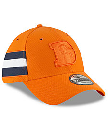 New Era Denver Broncos Official Color Rush 39THIRTY Stretch Fitted Cap