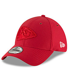 New Era Kansas City Chiefs Official Color Rush 39THIRTY Stretch Fitted Cap