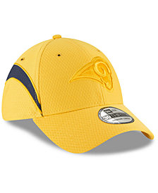 New Era Los Angeles Rams Official Color Rush 39THIRTY Stretch Fitted Cap