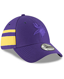 New Era Minnesota Vikings Official Color Rush 39THIRTY Stretch Fitted Cap