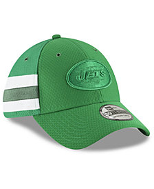 New Era New York Jets Official Color Rush 39THIRTY Stretch Fitted Cap