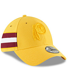 New Era Washington Redskins Official Color Rush 39THIRTY Stretch Fitted Cap