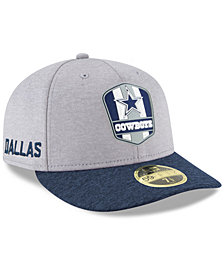 New Era Dallas Cowboys On Field Low Profile Sideline Road 59FIFTY FITTED Cap