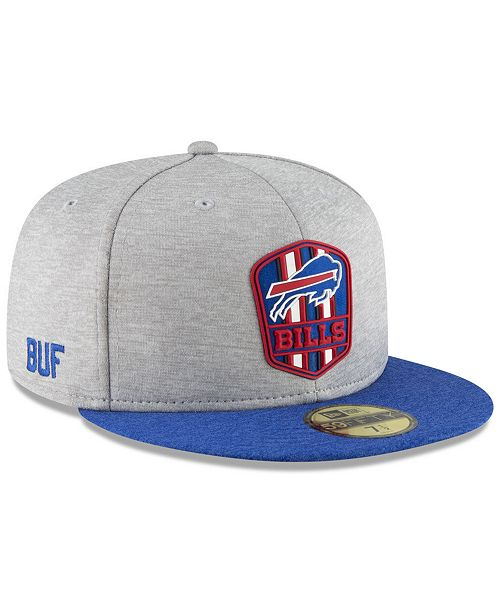 a20d9c08 New Era Boys' Buffalo Bills Official Sideline Road 59FIFTY Fitted Cap ...