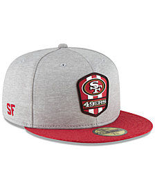 New Era Boys' San Francisco 49ers Official Sideline Road 59FIFTY Fitted Cap