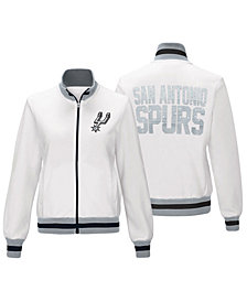 G-III Sports Women's San Antonio Spurs Field Goal Track Jacket