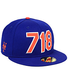 New Era New York Mets Area Code 59FIFTY FITTED Cap