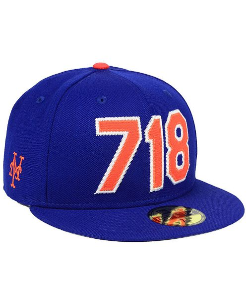 be2eef5c0cc New Era New York Mets Area Code 59FIFTY FITTED Cap   Reviews ...