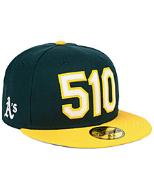 New Era Oakland Athletics Area Code 59FIFTY FITTED Cap