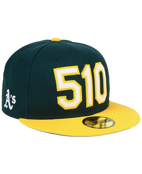 100% authentic 3939d 18a3b New Era Oakland Athletics Area Code 59FIFTY FITTED Cap - Sports Fan ...