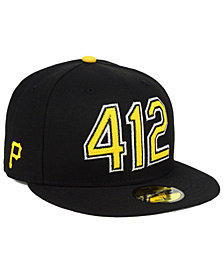New Era Pittsburgh Pirates Area Code 59FIFTY FITTED Cap