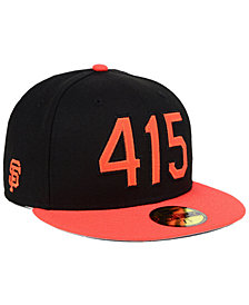 New Era San Francisco Giants Area Code 59FIFTY FITTED Cap